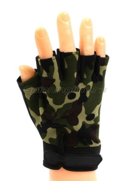 Перчатки Следопыт без пальцев XL K04 - фотография 1