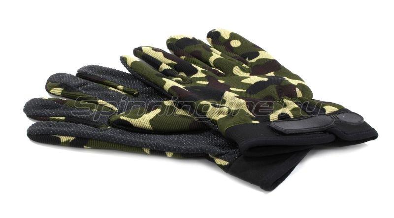 Перчатки Следопыт L хаки -  2