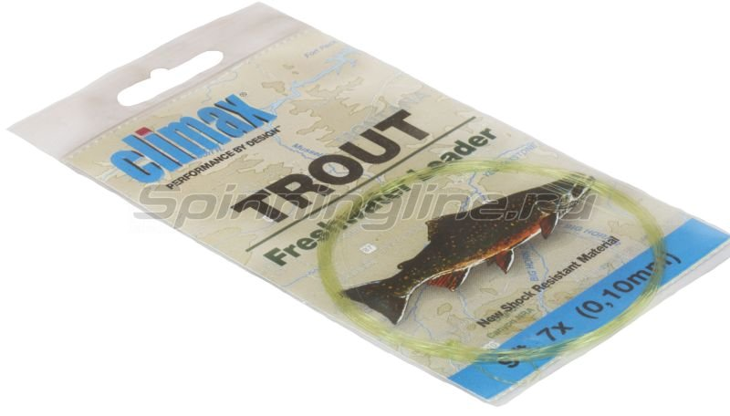 Climax - Подлесок Trout Leader 9ft 7х - фотография 1