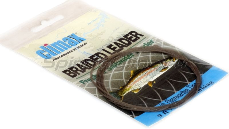 Подлесок Braided Butt Fluorocarbon 9ft 7х quick sinking+tippet -  1