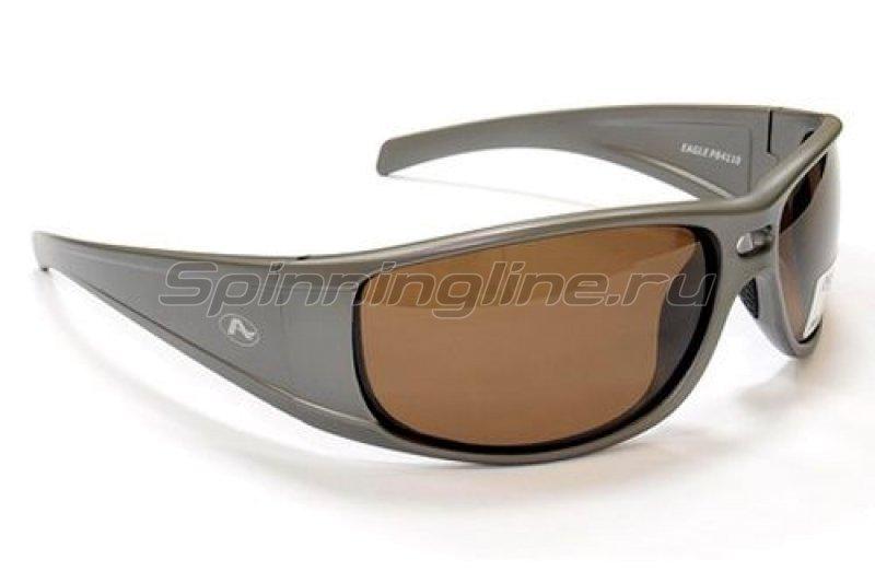 Очки Aqua Eagle Pearl Grey PL-Brown -  1