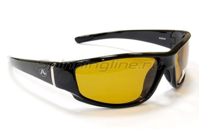 Очки Aqua Moray Shine Black PL Yellow - фотография 1