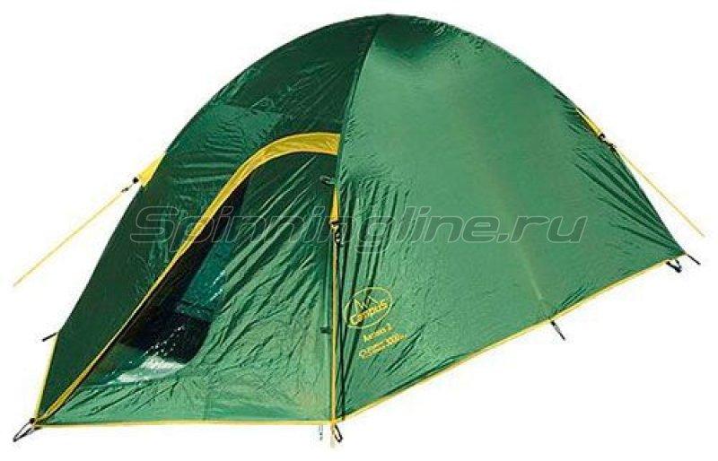 Палатка туристическая Antibes 2 (stone beige 909/yellow 409) -  1