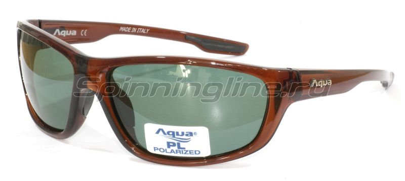 Очки Aqua Viva Shiny Brown PL Grey - фотография 1