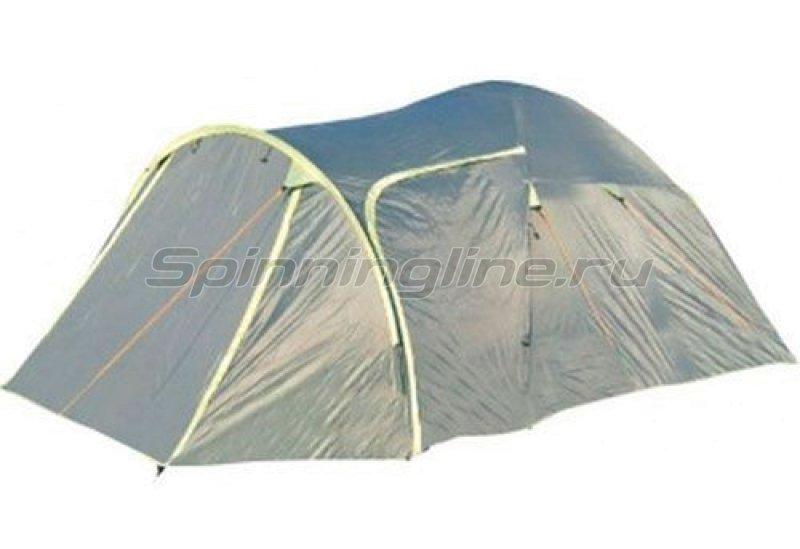 Палатка туристическая Vail 4 (khaki 517/yellow 409) -  1