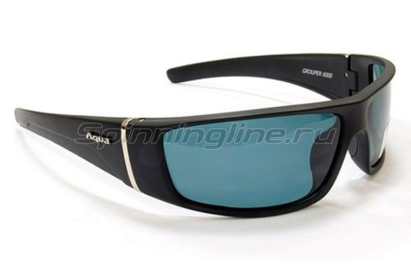 Очки Aqua Grouper Black Matt PL-Grey -  1