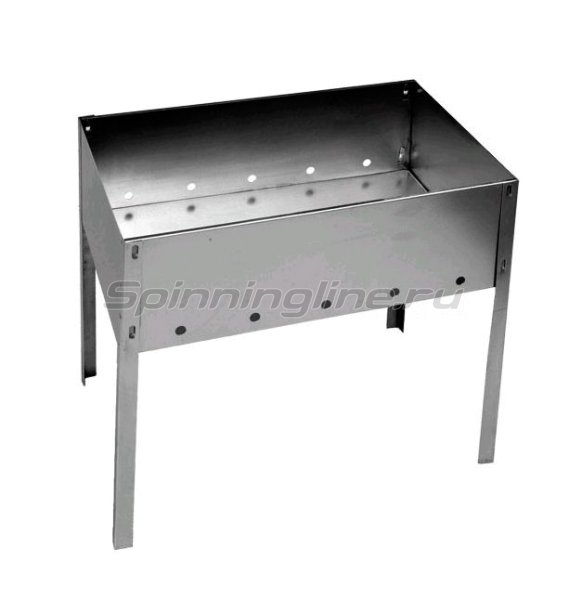 Кедр плюс - Мангал сборный, сталь 0,5мм МСБ-350 - фотография 1