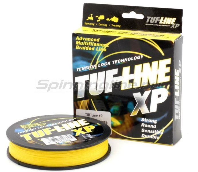 Tuf-Line - Шнур XP 274м 0.20мм yellow - фотография 1