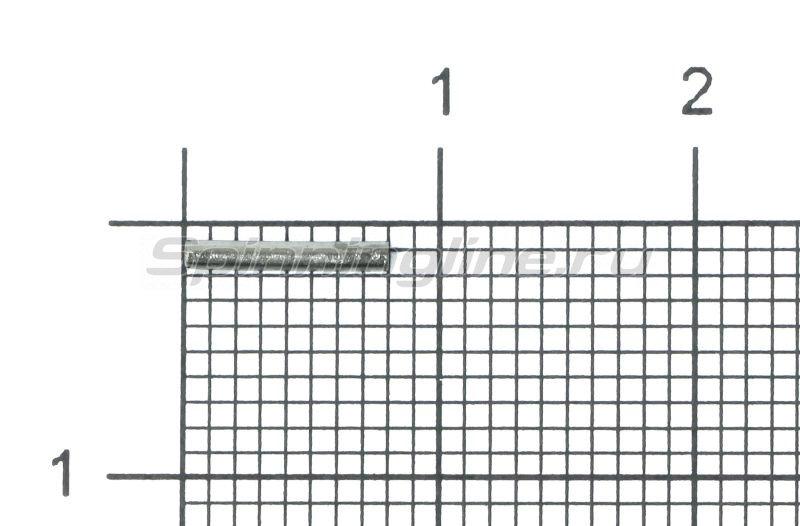 Обжимные трубочки для поводков 1,2х1х8мм -  1