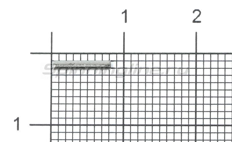 Обжимные трубочки для поводков 1,4х1х8мм -  1
