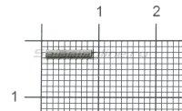 Обжимные трубочки для поводков 1,8x0,8х8мм