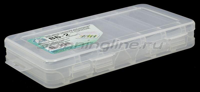 Коробка Три Кита для воблеров и балансиров ВБ-2 -  1
