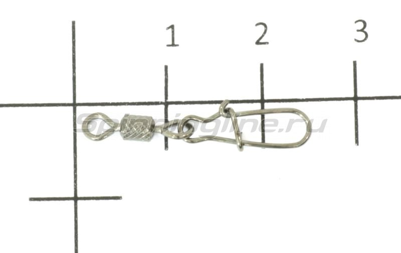 Agat - Вертлюг с карабином Rolling swivel with Nice Snap Impresed 3023 №6 - фотография 1
