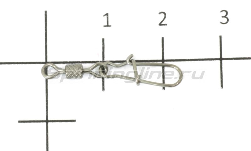 Agat - Вертлюг с карабином Rolling swivel with Nice Snap Impresed 3023 №7 - фотография 1