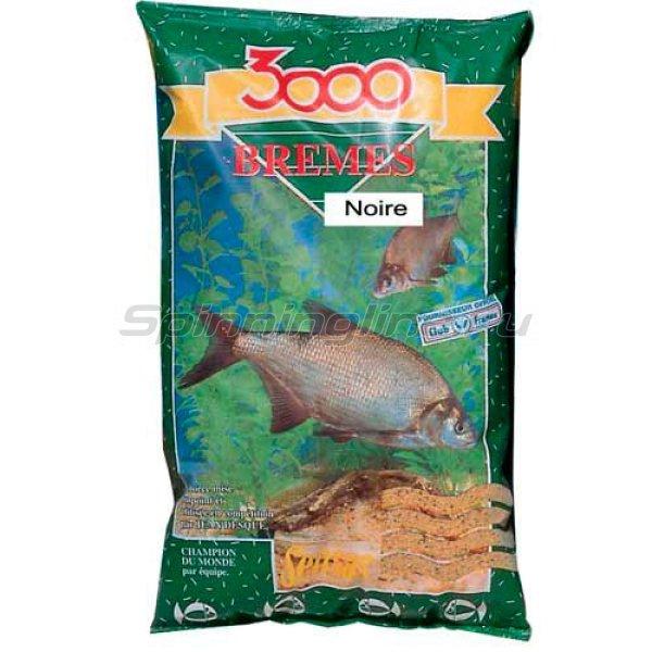 Прикормка Sensas 3000 Bremes Noir 1 кг -  1