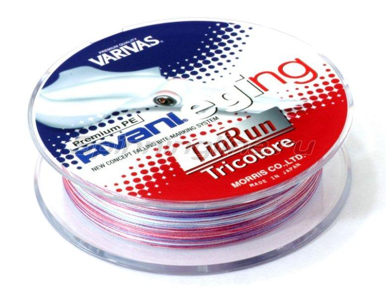 Шнур Avani Eging Tip Run PE Tricolor 150м 0.8 -  2