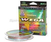Шнур Wega 130м 0,18мм multicolor