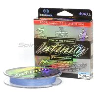 Шнур Infinity 150м 0,08мм blue