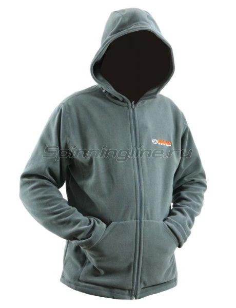 Куртка флисовая Kosadaka JF-01 XXL серая -  1