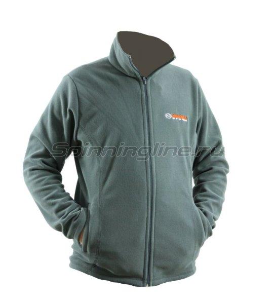 Куртка флисовая Kosadaka JF-03 XXL серая - фотография 1