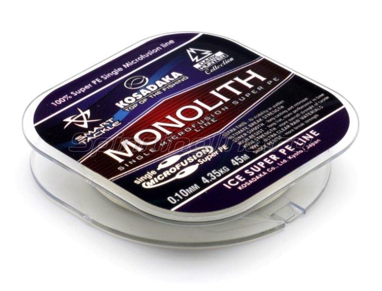 Шнур Monolith 110м 0,12мм clear -  2