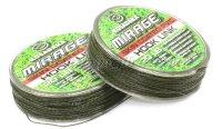 Поводковый материал Mirage в оболочке 25м 25lb зеленый/черный