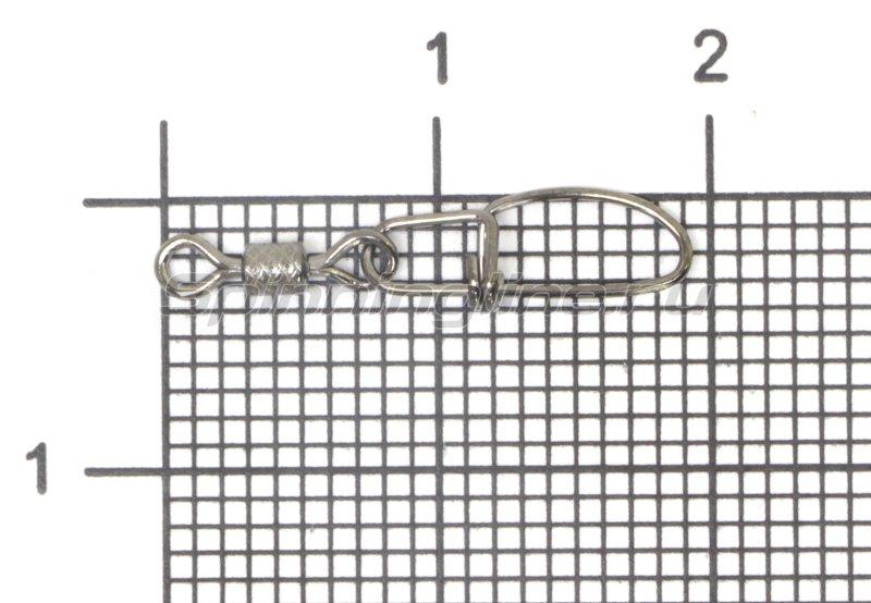 Вертлюг с карабином Insurance Snap №10 -  1