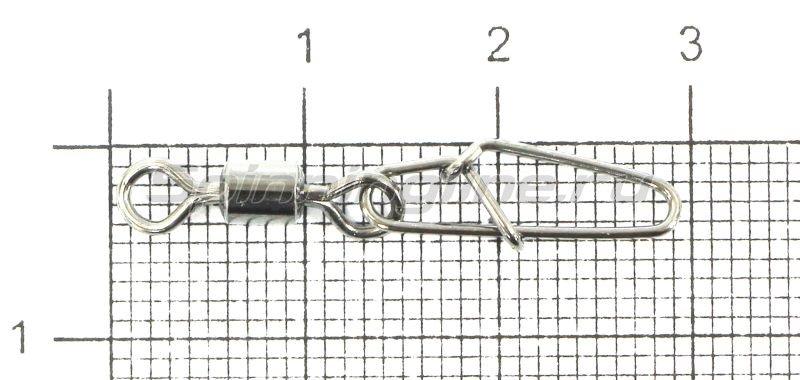 Вертлюг с карабином Super Hooked Snap №4 -  1