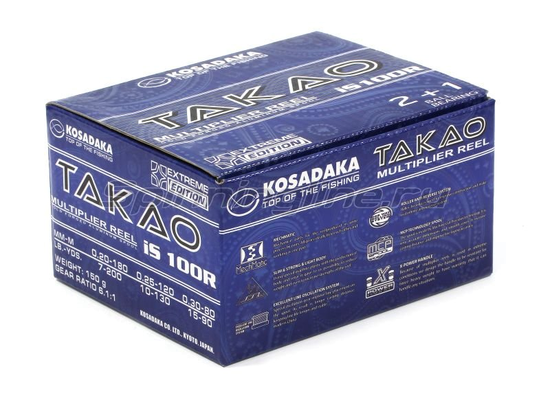 Kosadaka - Катушка Takao IS 100 R - фотография 7