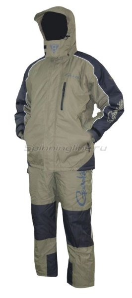 Костюм Gamakatsu Hyper Thermal Suit XL Khaki - фотография 1
