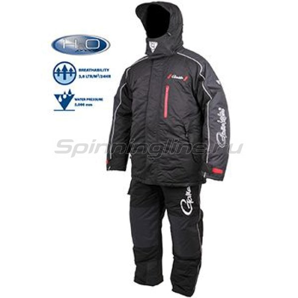 Костюм Gamakatsu Hyper Thermal Suit XL Black - фотография 3