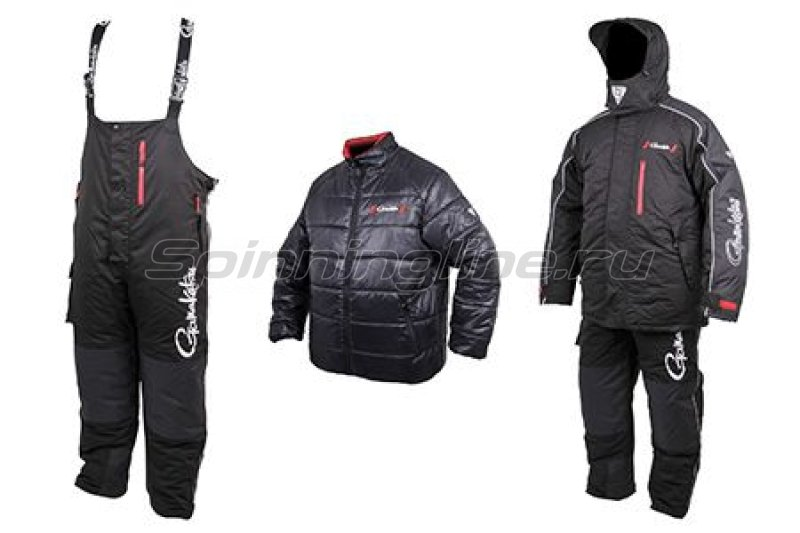 Костюм Gamakatsu Hyper Thermal Suit XL Black - фотография 4