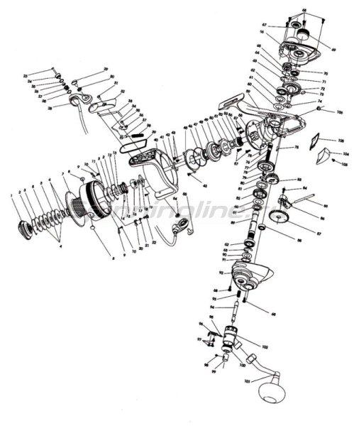 RYOBI - Катушка Turbo 20000L - фотография 2