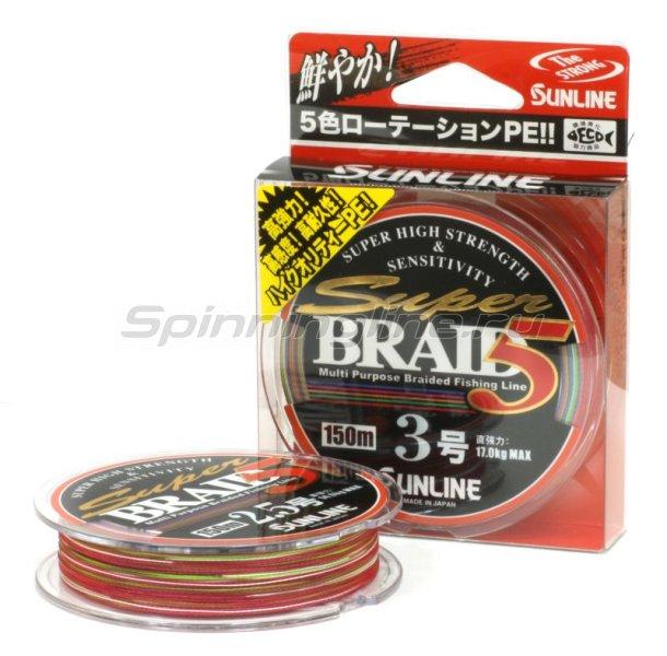 Шнур Super Braid 5HG 150м 1 -  1