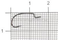 Крючок S.S. Hook Worm 19 №10