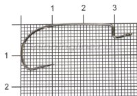 Крючок Worm 9 №2