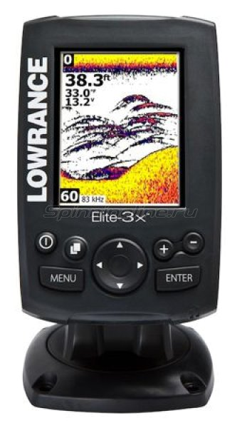 Эхолот Lowrance Elite-3x 83\200 Hd -  1