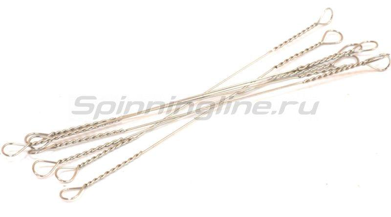 """Поводок струна """"Spinningline"""" 12,5см 0,33мм 12кг -  2"""