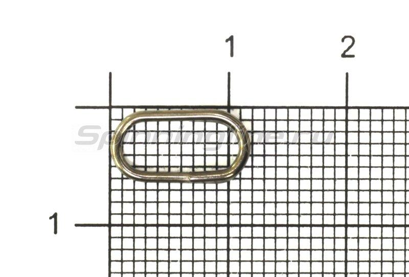 Кольца заводные овальные Kosadaka 1215N-10 - фотография 1