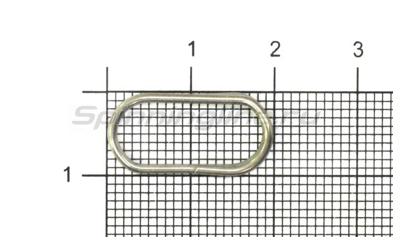 Кольца заводные овальные Kosadaka 1215N-15 - фотография 1