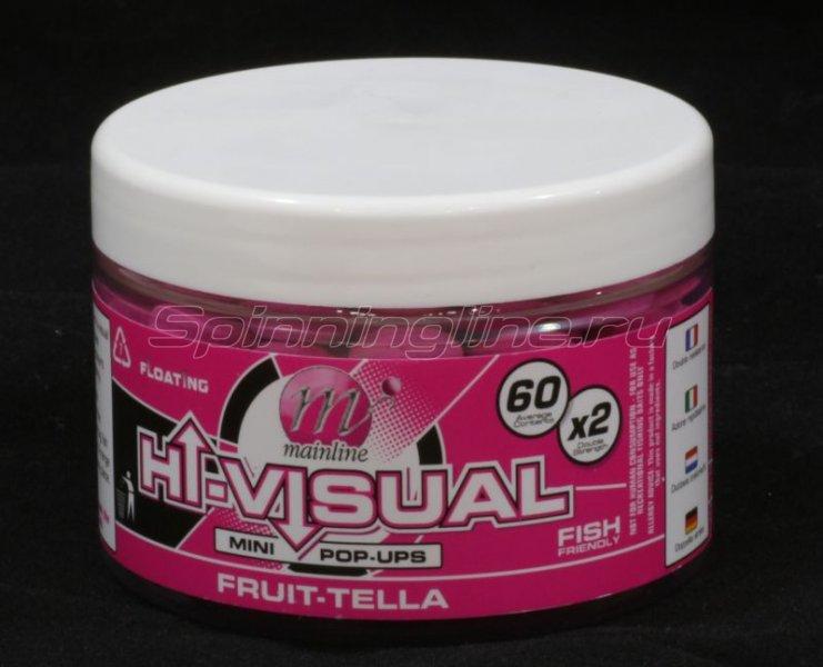 Бойлы High Visual Pop-Ups 10мм Pink Fruit- Tella -  1