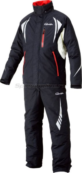 Костюм Gamakatsu Wind-Up Rain Suit L Black - фотография 1