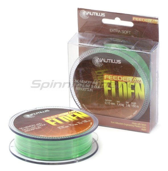Леска Elden Feeder Fluo 150м 0,18мм -  1