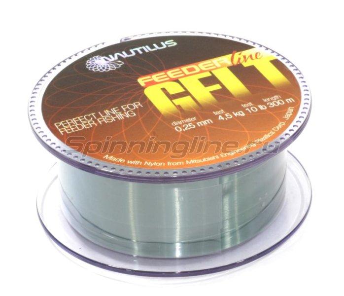 Nautilus - Леска Gelt Feeder 300м 0,30мм - фотография 1