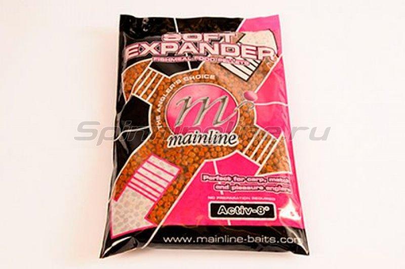 Mainline - Пеллетс прикормочный Pro-Active Soft Expander Pellets 750гр Active - 8 - фотография 1