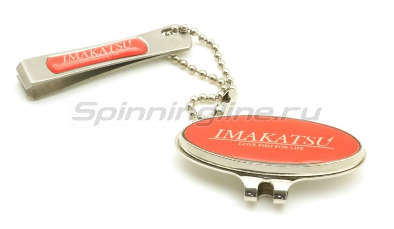 Imakatsu - Кусачки Line Cutter Magnetic Cap red - фотография 1