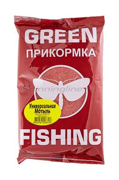 Прикормка Greenfishing Универсальная Мотыль 800 гр. - фотография 1