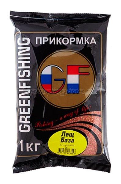 Greenfishing - Прикормка GF Лещ База 1кг. - фотография 1