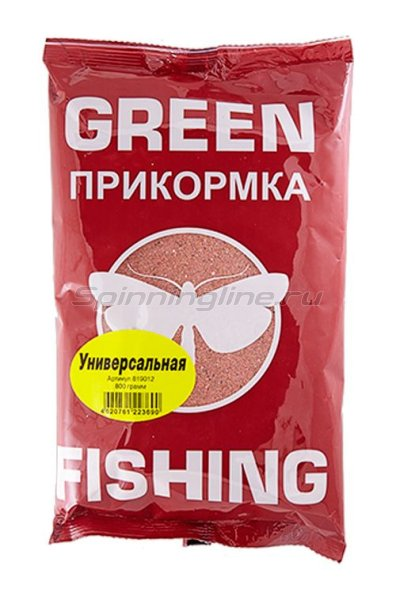 Прикормка Greenfishing Универсальная 800 гр. -  1