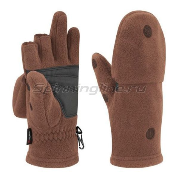 Bask - Перчатки - варежки Vary V3 коричневый хаки M - фотография 1
